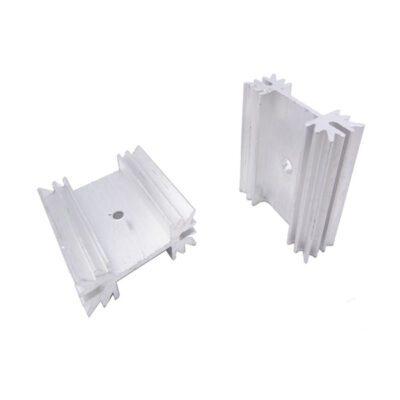 هیت سینک پروانه ای آلومینیومی 3×3.4×1.2
