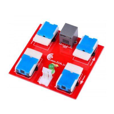 دسته کنترل ربات 2 موتور حرفه ای