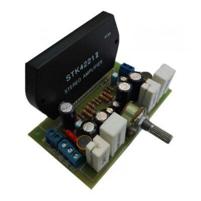ماژول آمپلی فایر 80+80 وات با تراشه STK4221