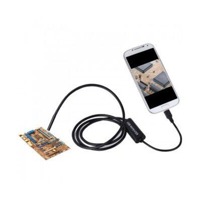 دوربین آندوسکوپ 1.3 مگاپیکسل با لنز 7mm و کابل 1 متر ارتباط USB سازگار با ویندوز و اندروید ضدآب