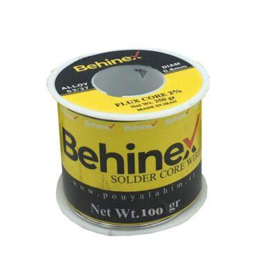سیم لحیم بهینکس 100 گرمی با قطر ۰.۸mm