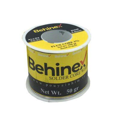سیم لحیم بهینکس 50 گرمی با قطر ۰.۸mm