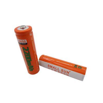 باتری لیتیوم یون 3.7 ولت 2200mAh سایز 18650 (small sun)