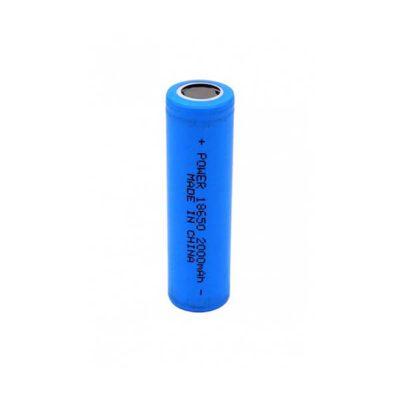 باتری لیتیوم یون 3.7 ولت 2000mAh سایز 18650 ( سرتخت نوع مرغوب )
