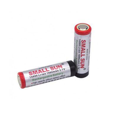 باتری لیتیوم یون 3.7 ولت 1000mAh سایز 14500 (Small Sun)