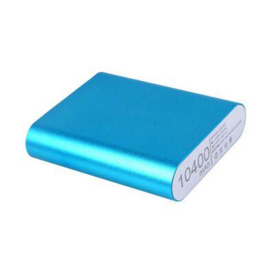کیس پاوربانک 4 باتری دارای خروجی 5V 2A USB (آبی)