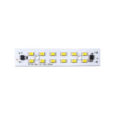 LED 220V 6W سفید آفتابی خطی چیپ 5730