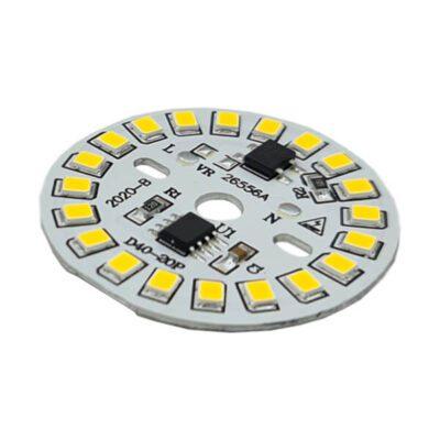 LED گرد آفتابی 220V 9W با درایور (۲۲۰ ولت ۹ وات)