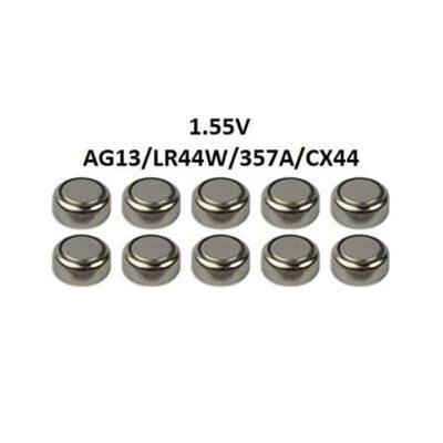 باتری سکه ای آلکالاین سایز AG13 ( ورق 2 تایی)