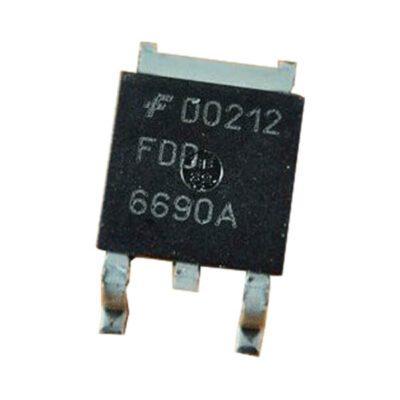 ماسفت MOSFET FDD6690A پکیچ TO-252