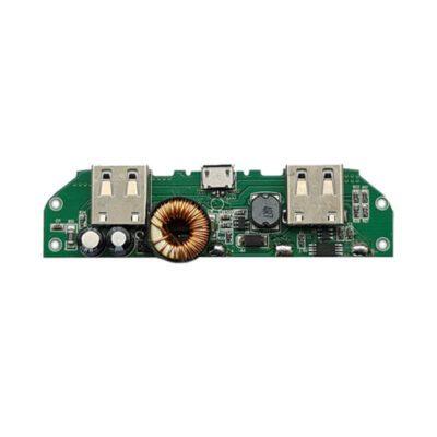 ماژول پاور بانک با دو خروجی و نشانگر LED (دو سل )