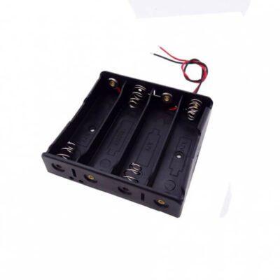 جا باتری چهار تایی باتری های لیتیوم یون سایز 18650