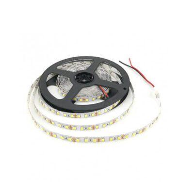 LED نواری سفید آفتابی مرغوب 5050 60Pcs رول ۵ متری