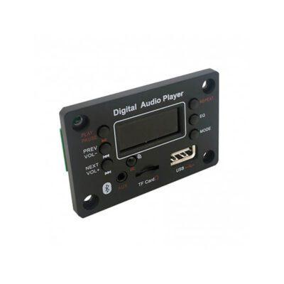 پخش کننده بلوتوثی 12 ولت روپنلی MP3 با ریموت کنترل مدل G016B