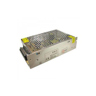 منبع تغذیه سوئیچینگ قاب فلزی 24V – 5A