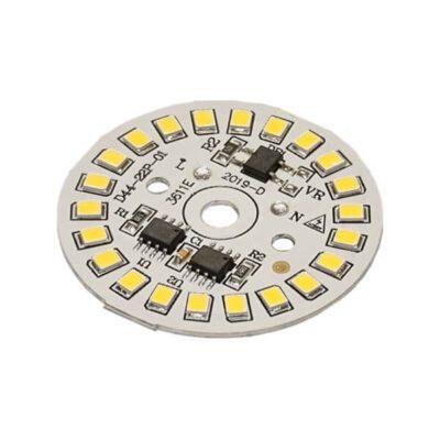 LED گرد مهتابی 220V 15W با درایور (۲۲۰ ولت ۱۵ وات)