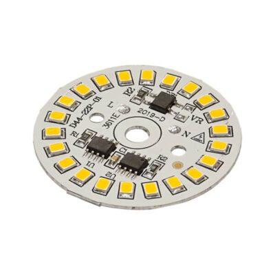 LED گرد آفتابی 220V 15W با درایور (۲۲۰ ولت ۱۵ وات)