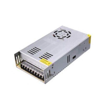منبع تغذیه سوئیچینگ قاب فلزی 12V – 20A نوع فن دار