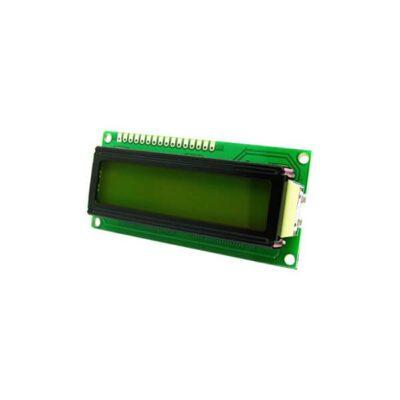 LCD کاراکتری 2X16 با بک لایت سبز