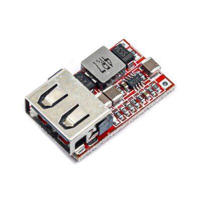 ماژول کاهنده DC به DC با ورودی 6 تا 24 ولت و خروجی 5V-3A USB