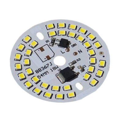LED گرد مهتابی 220V 18W با درایور (۲۲۰ ولت ۱۸ وات)