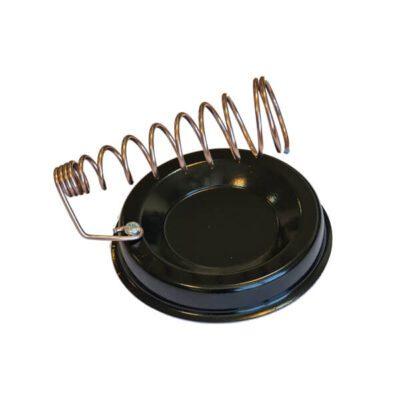 پایه هویه فلزی گرد مشکی