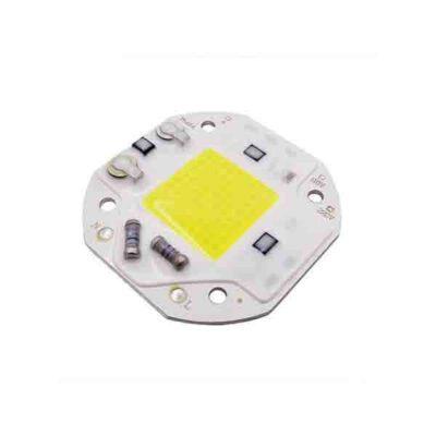 LED COB مهتابی مربع 20W 220V با درایور داخلی سایز 5454