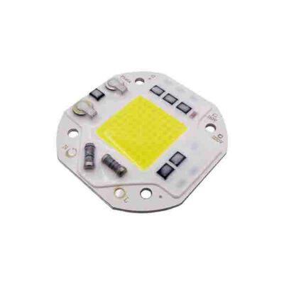 LED COB مهتابی مربع 50W 220V با درایور داخلی سایز 5454