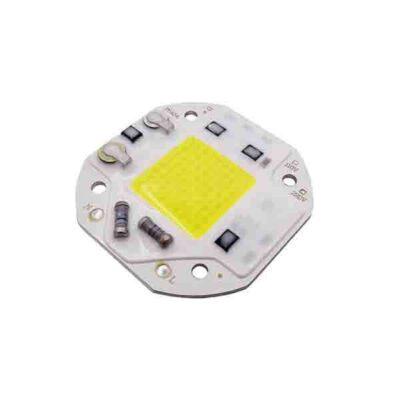 LED COB مهتابی مربع 30W 220V با درایور داخلی سایز 5454