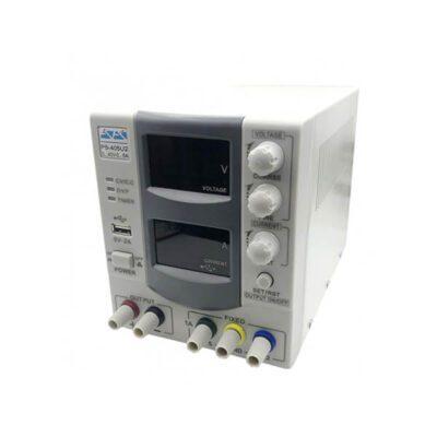 منبع تغذیه دیجیتال 0 تا 40 ولت 5 آمپر برند آداک ADAK مدل PS-405U2F