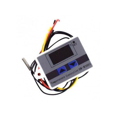 ترموستات دما دیجیتال 12V مدل HW – W3001